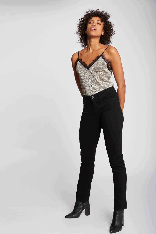 Morgan bootcut jeans zwart, Zwart