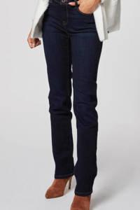Morgan high waist bootcut jeans donkerblauw, Donkerblauw