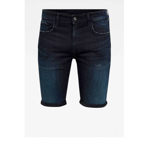 G-Star RAW slim fit jeans short worn in night dest
