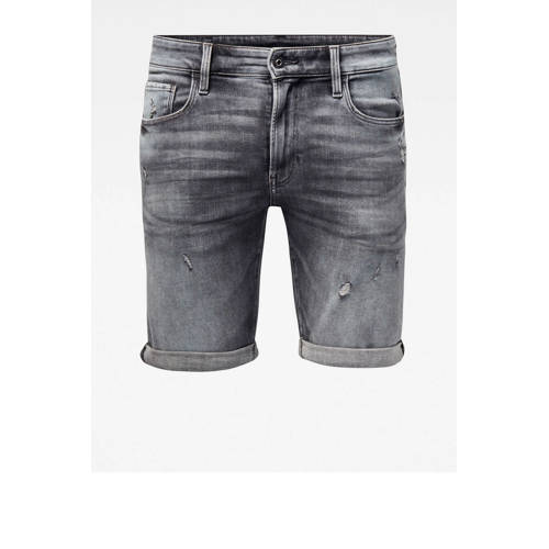G-Star RAW slim fit jeans short vintage basalt des