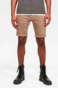 G-Star RAW slim fit jeans short dark lever, Dark Lever