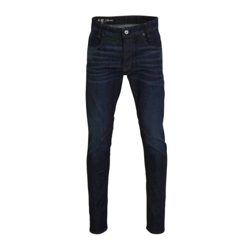 G-Star RAW D-staq slim fit jeans worn in deep fore