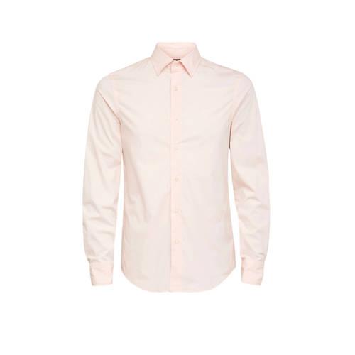 G-Star RAW slim fit overhemd lichtroze
