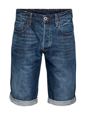 regular fit jeans short b219 worn in blue stone