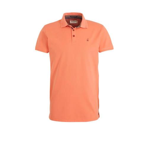 No Excess regular fit polo met logo peach