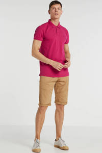 No Excess regular fit polo met logo watermelon, Watermelon