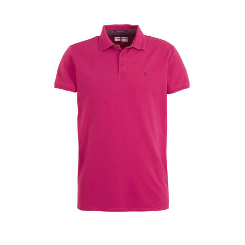 No Excess regular fit polo met logo watermelon