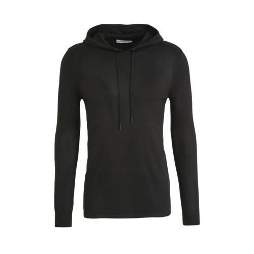 Purewhite hoodie zwart