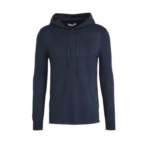 Purewhite hoodie donkerblauw