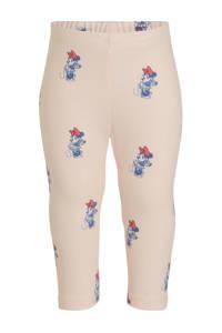 GAP baby Minnie Mouse legging met all over print lichtroze/blauw, Lichtroze/blauw