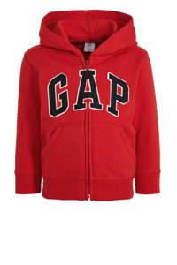 GAP vest met logo rood/zwart/wit, Rood/zwart/wit