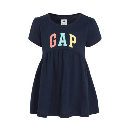 GAP A-lijn tuniek met logo donkerblauw