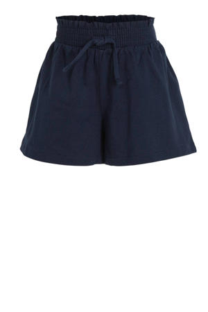 loose fit short donkerblauw