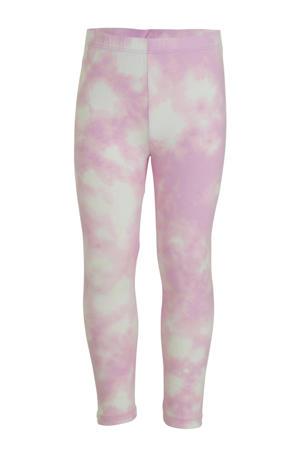 tie-dyelegging roze/ecru
