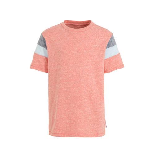 GAP T-shirt oranje/blauw/wit