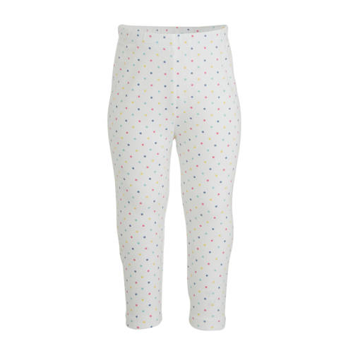 GAP baby broek met stippen wit/multi