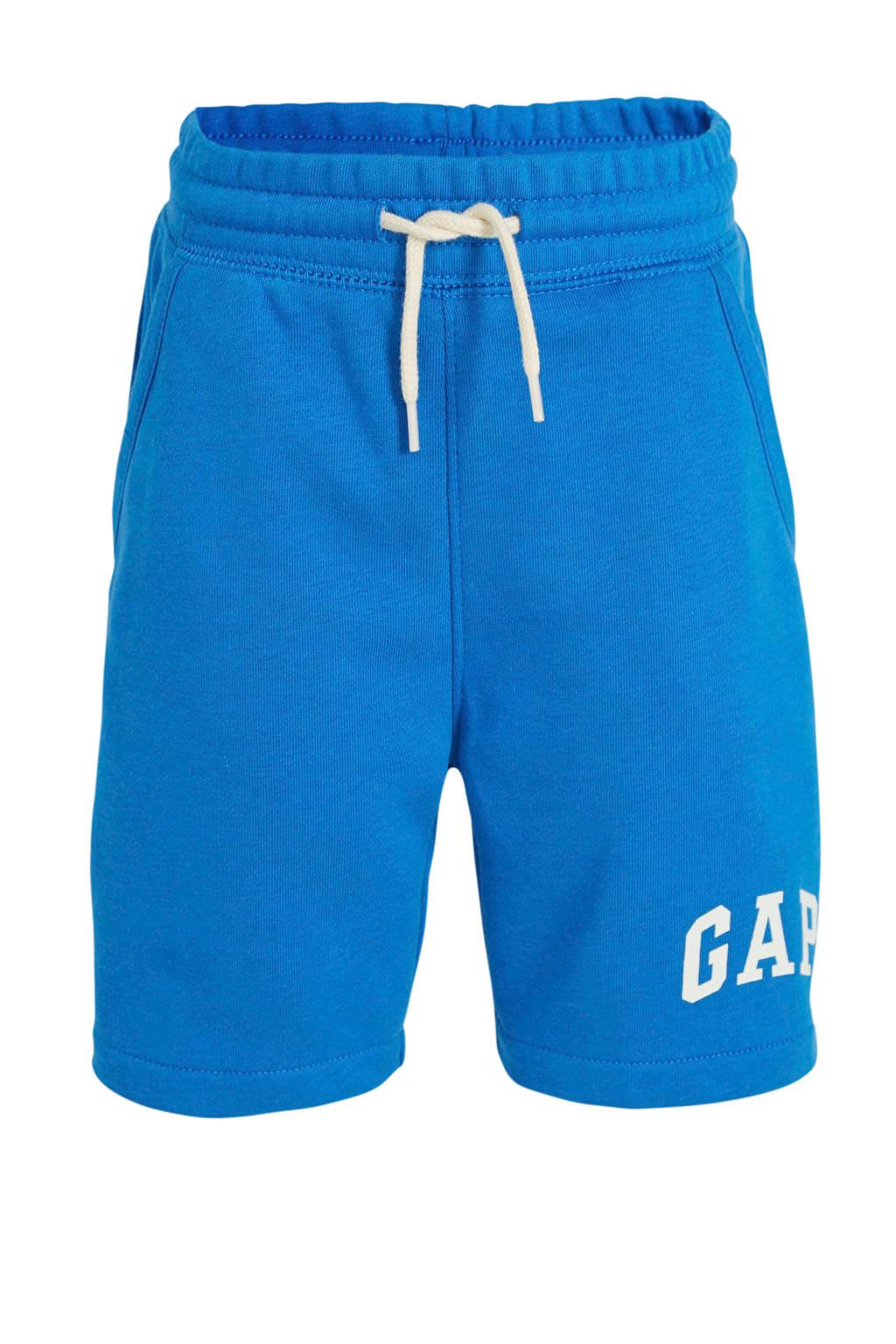 GAP sweatshort met logo blauw, Blauw