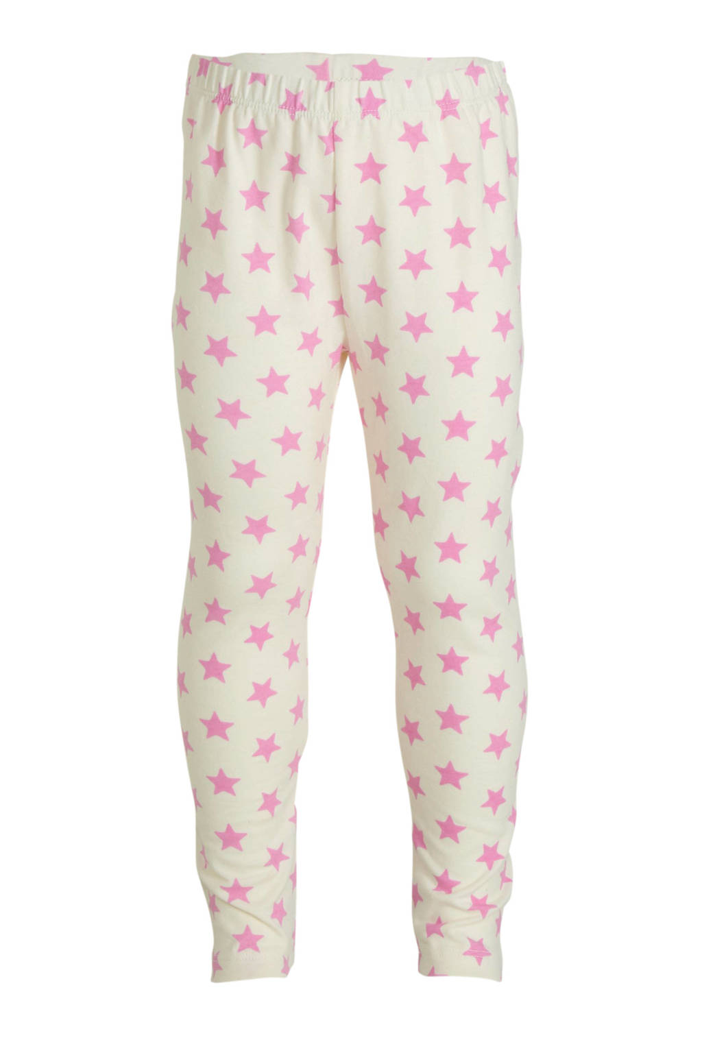 GAP legging met sterren offwhite/roze, Offwhite/roze