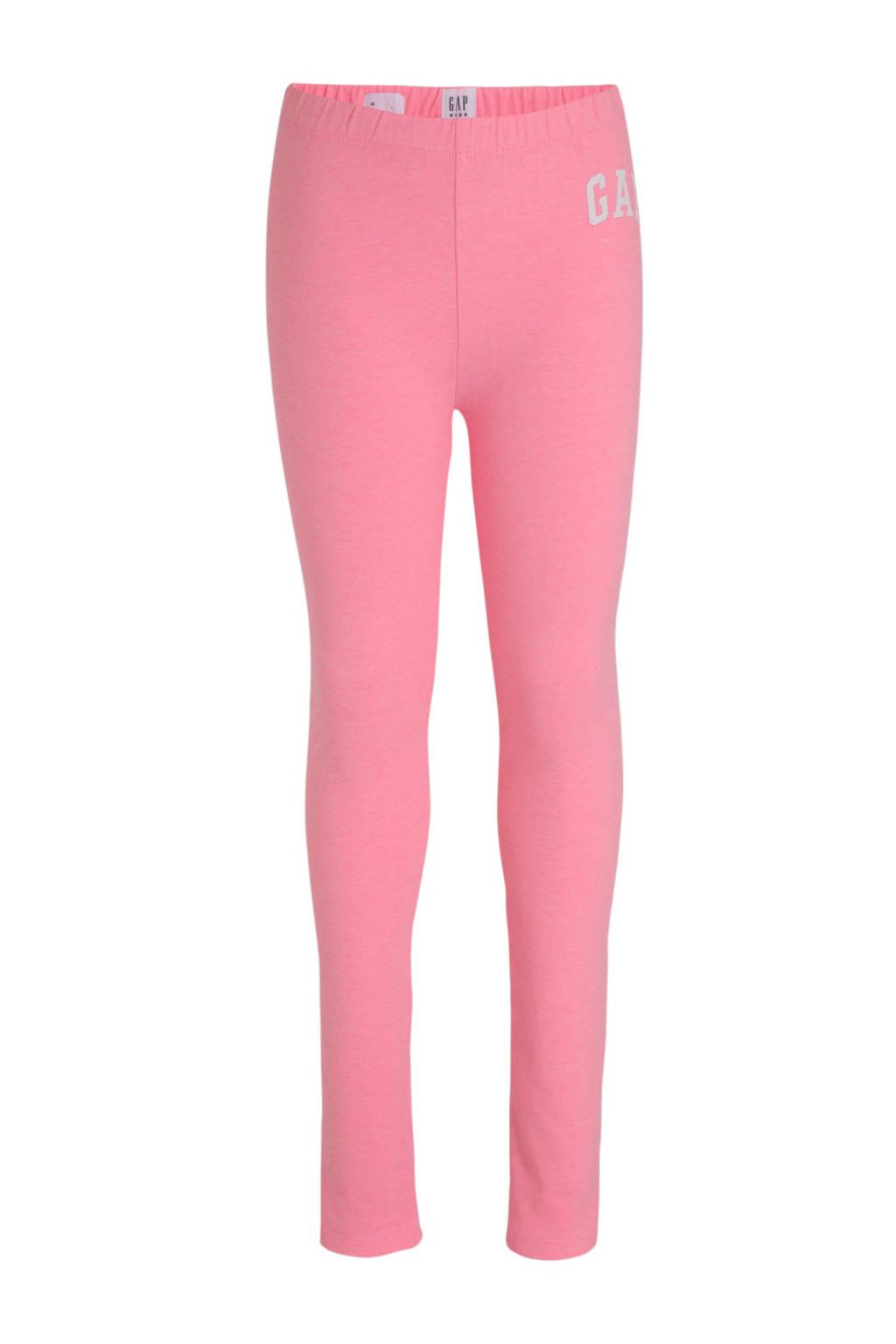 GAP legging met logo neon roze, Neon roze