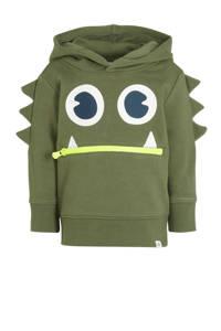 GAP hoodie met printopdruk army groen, Army groen