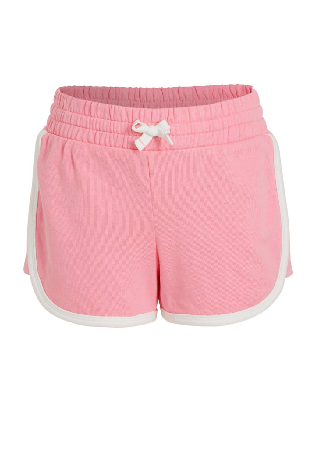 GAP sweatshort roze/wit, Roze/wit