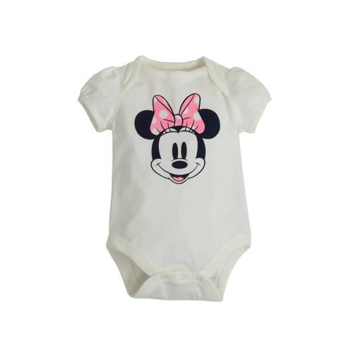 GAP romper met Minnie Mouse print offwhite