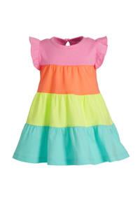 GAP jersey jurk en ruches multicolor, Multicolor