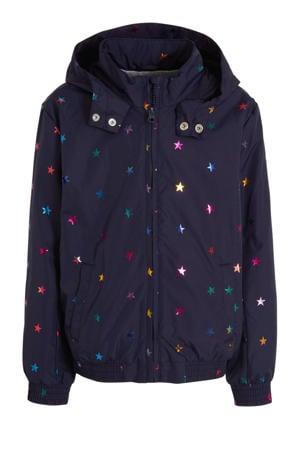 zomerjas met sterren donkerblauw/multi