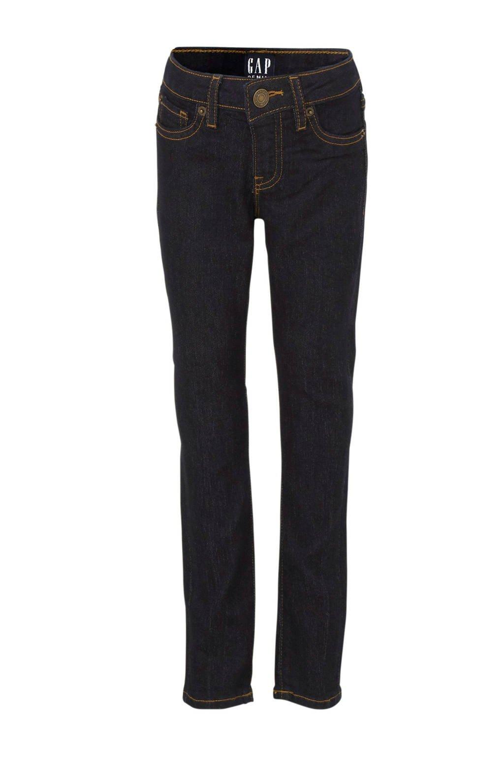 GAP skinny jeans dark denim, Dark denim