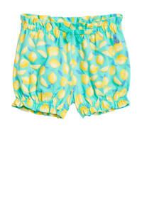 GAP baby short met all over print lichtblauw, Lichtblauw