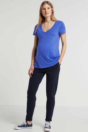 zwangerschapsshirt hardblauw