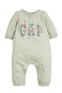 GAP baby boxpak met printopdruk en plooien grijs melange/roze/paars, Grijs melange/roze/paars