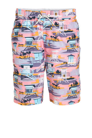 zwemshort met all over print