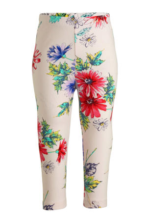 baby legging met stippen wit/multi