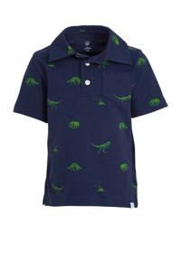 GAP polo met all over print donkerlbauw/groen, Donkerlbauw/groen
