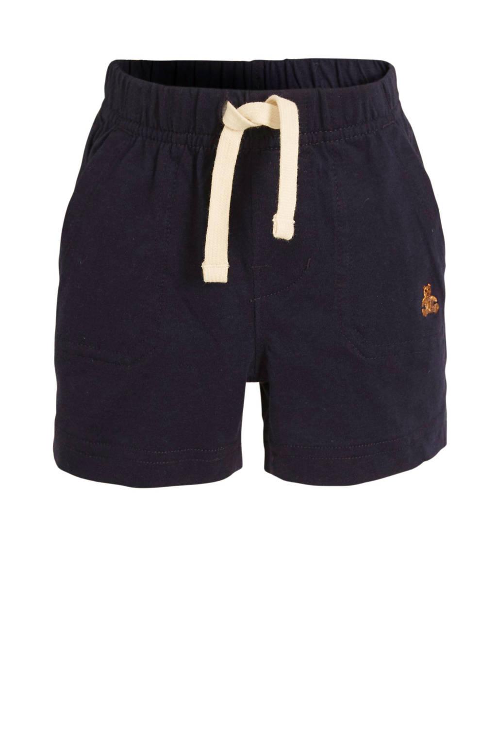 GAP baby short met borduursels donkerblauw, Donkerblauw