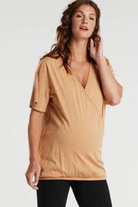 GAP overslag zwangerschaps- en voedingstop lichtbruin, Lichtbruin
