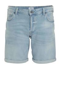 ONLY & SONS PLUS slim fit jeans short lichtblauw, Lichtblauw