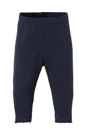 baby legging donkerblauw