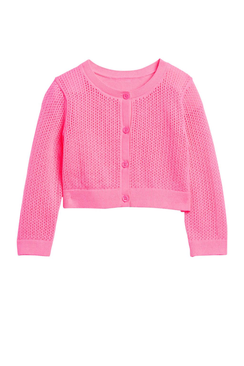 GAP baby vest met textuur roze, Roze