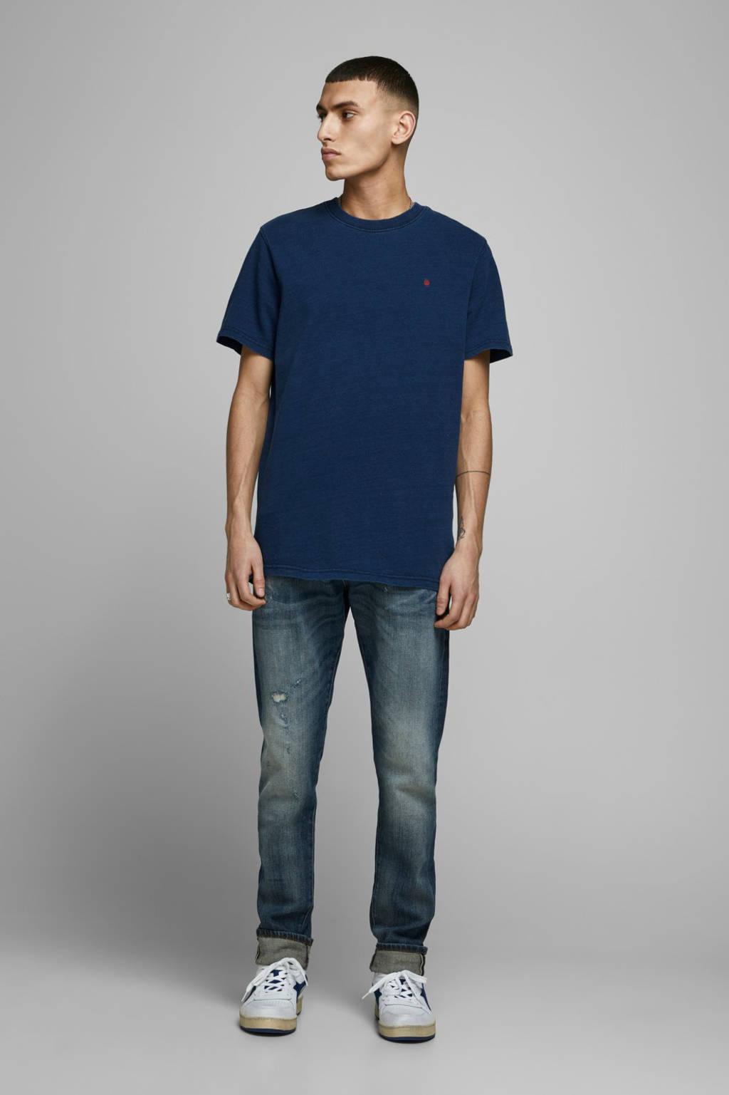 JACK & JONES PREMIUM T-shirt blauw, Blauw