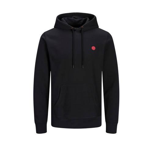 JACK & JONES PREMIUM hoodie met logo black