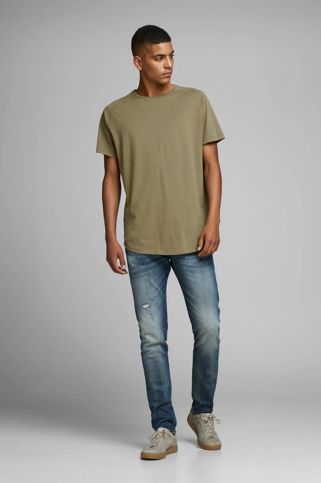 JACK & JONES ESSENTIALS T-shirt groen, Groen