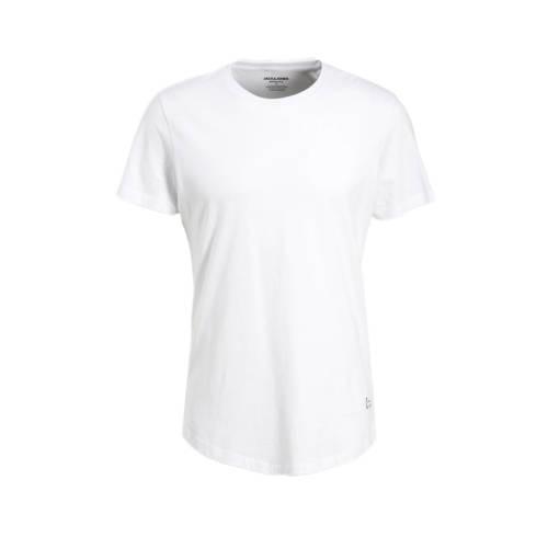 JACK & JONES ESSENTIALS T-shirt Curved wit