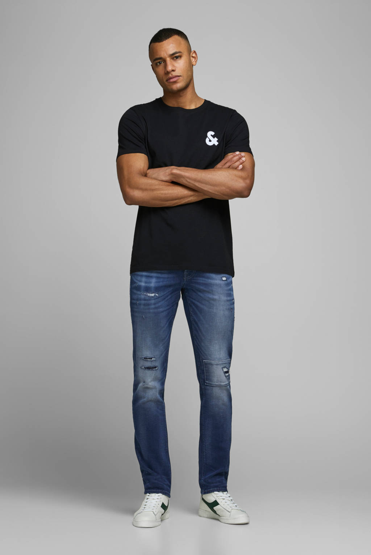 JACK & JONES JEANS INTELLIGENCE slim fit jeans blue denim, Blue denim