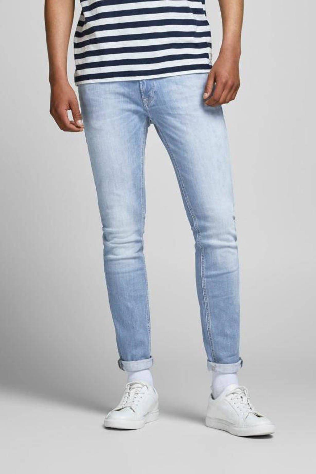 JACK & JONES JEANS INTELLIGENCE skinny jeans JJILIAM JJORIGINAL light denim, Light denim