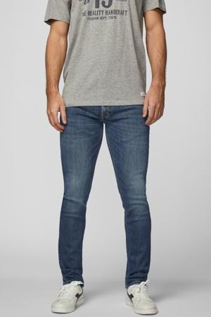skinny jeans dark blue denim