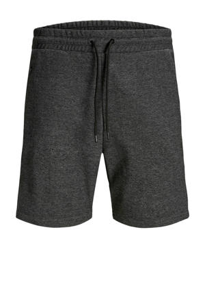 regular fit sweatshort dark grey melange