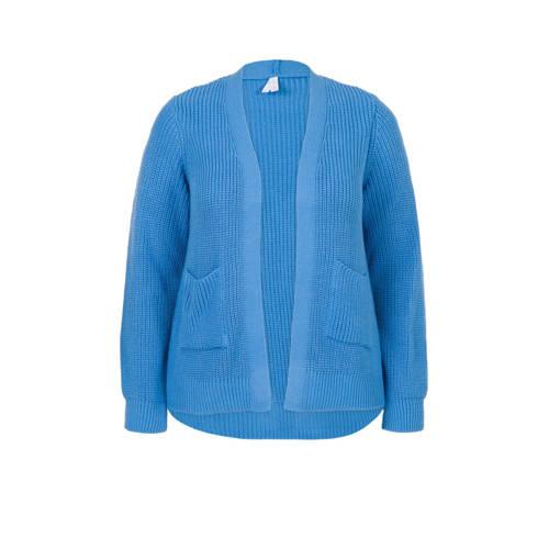 Miss Etam Plus vest blauw