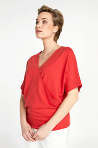 PROMISS T-shirt rood, Rood